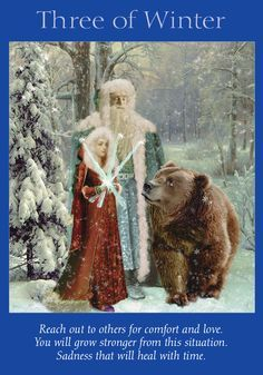 Oracle Card Three of Winter | Doreen Virtue | official Angel Therapy Web site