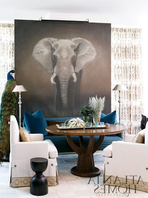 Африканский стиль в интерьере   #африканскийстиль #фотообои