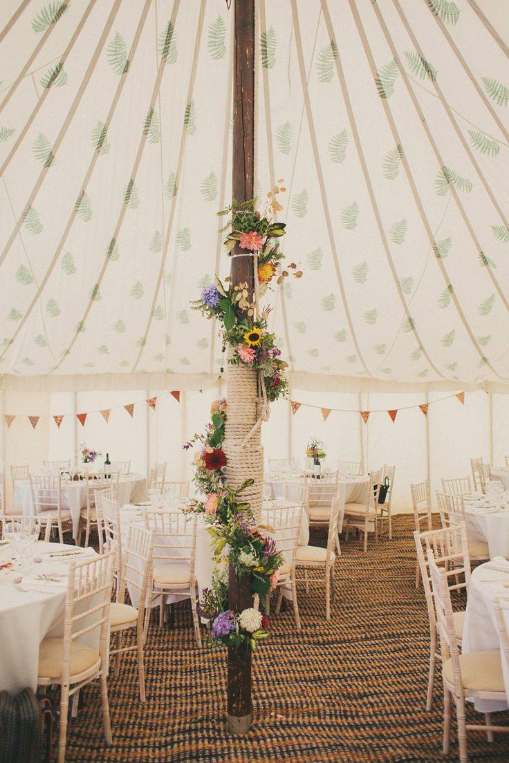 Boho Outdoor Wedding | LPM Bohemia Tent With Fern Lining | Maureen du Preez Photograhy | http://www.rockmywedding.co.uk/anna-george/