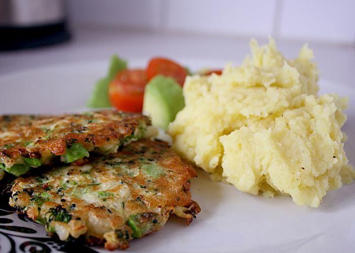 Halloumi-broccoli-blomkåls-biffar   Vegetarisk måndag