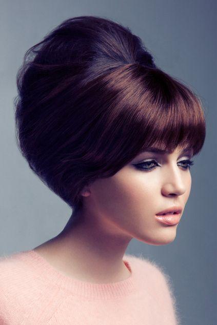 sixties seventies vintage hairstyle