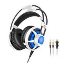 PICUN G6 Luminous TPE Adjustable Volume Game Headphone With Mic Gaming Headphones Comfortable Earmuff Headset . headphones