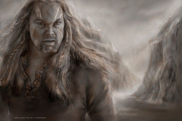 Jorn Lande Fan Art / (slow) Speedpaint :) by isissousa2 on DeviantArt