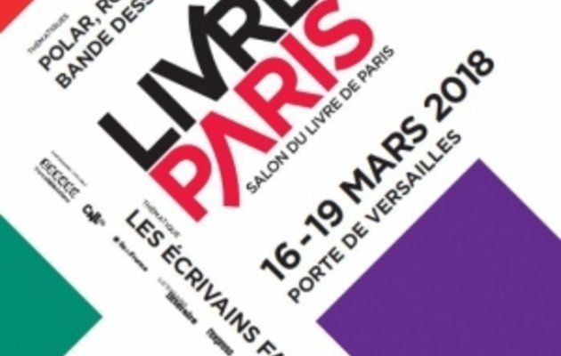 Salon du Livre 2018 à Paris