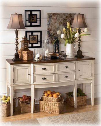 dining room servers sideboards | ... Whitesburg Dining Room Server from The Buffet and Sideboard Superstore