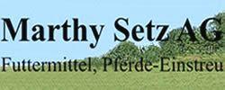 Marthy-Setz AG Futtermittel, Kölliken, Tierbedarf, Pferdeeinstreu, Ammoniakbinder