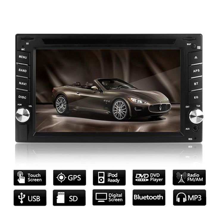 example invitation letter for schengen visfrance%0A       GPS Navigation HD  DIN Bluetooth Car Stereo DVD Player Touch Screen  USB SD