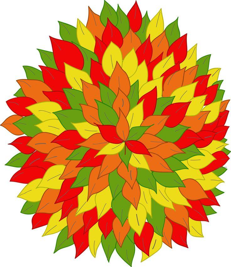 Multicolor tree by Orangepencil on Etsy