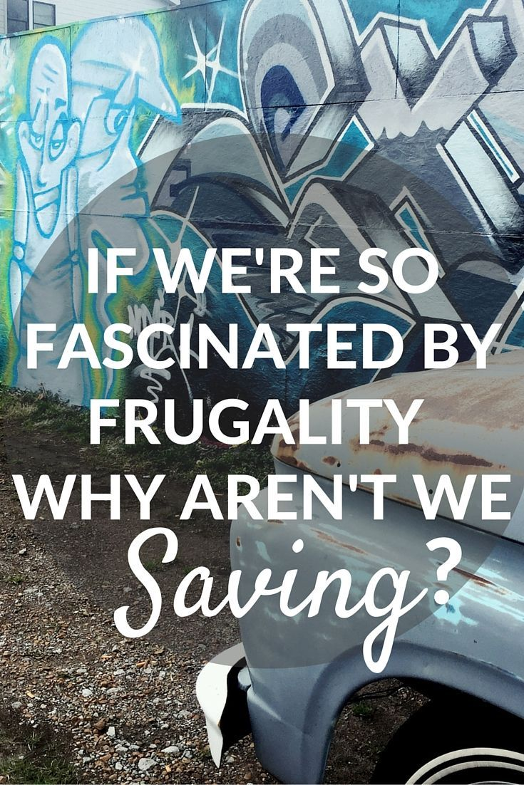 Americans are obsessed with frugality, but still struggle to save. Here's a new way to look at being frugal, and why it's important. | Cashville Skyline