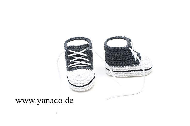 12,99€, Babyschuhe dunkelgrau