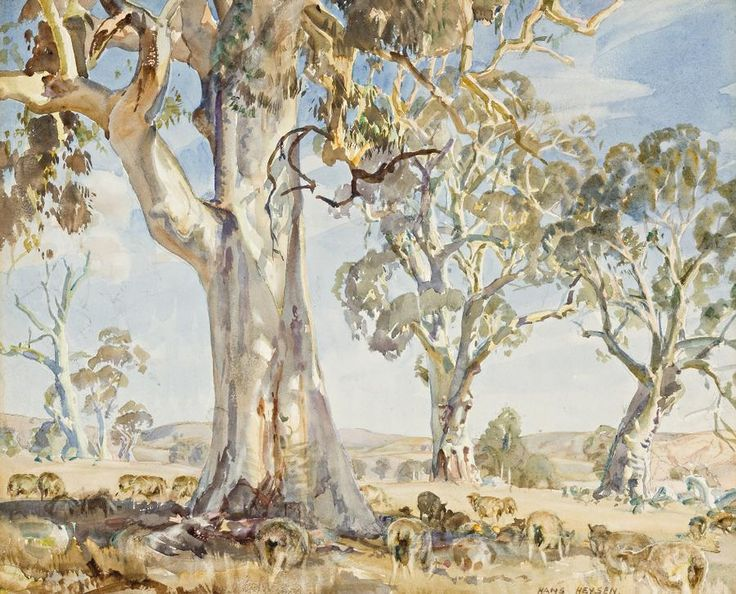 hans heysen paintings - Google Search