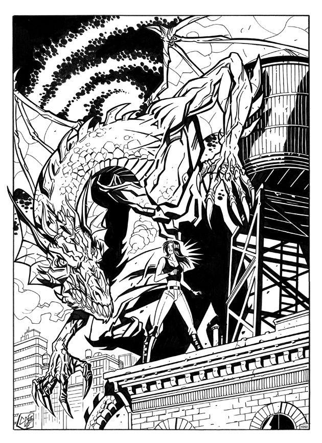 Jasmine and dragon by FedericoMemola.deviantart.com on @DeviantArt