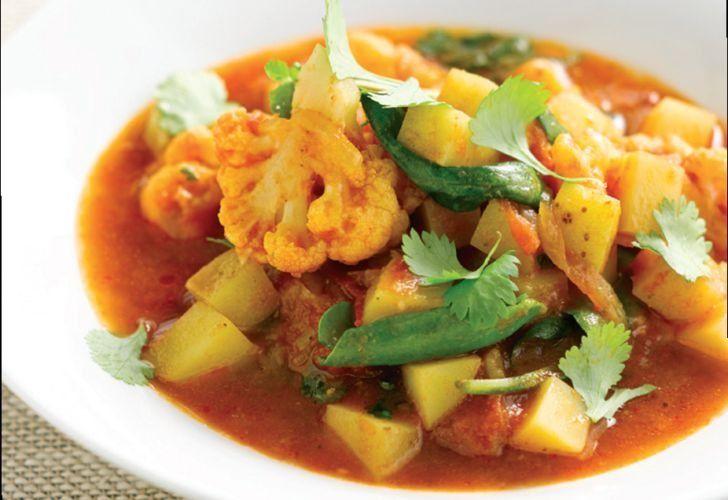 Saucy Bombay Potatoes Recipe: Cook Vegetarian Magazine