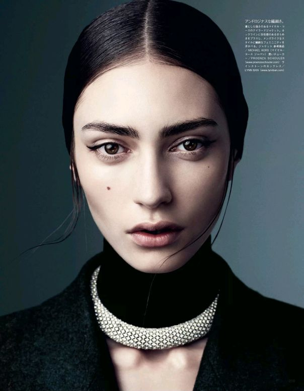 Marine Deleeuw by Steven Pan for Vogue Japan August 2013