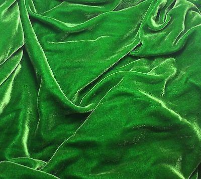 """Kelly Green - Silk Velvet (45"""") – Prism Silks"""