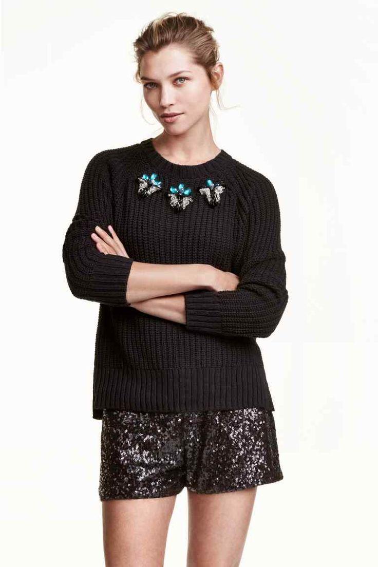 Short à paillettes | H&M