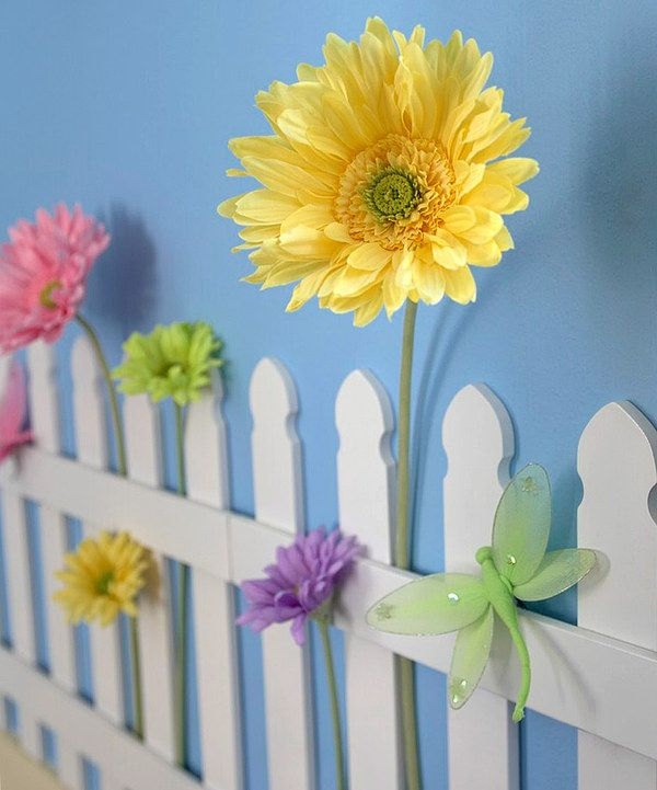 Loving this White Picket Fence on #zulily! #zulilyfinds - For my girls room!