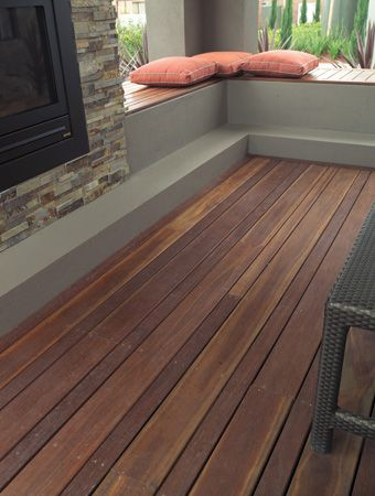 Wonder how this Spotted gum deck would look in our LNG skinny Japanese garden? I don't mind The alternating wide and narrow boards.