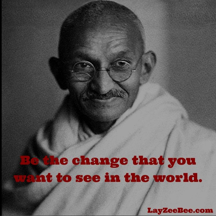 Gandhi's Way Of Life Is An Inspiration To People Worldwide