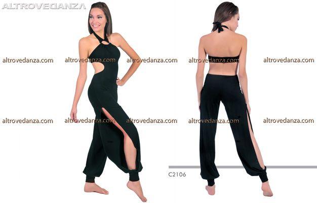 Tuta Danza Moderna Tango (C2106)
