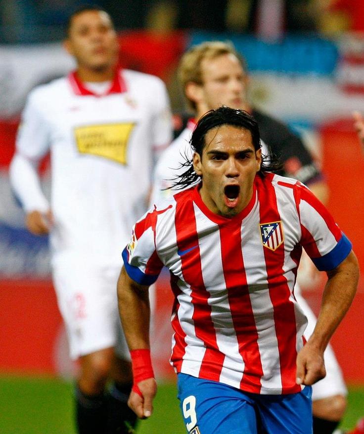 Así gritó el 'Tigre' su gol número 50 con la camiseta del @Atleti #Falcao #AtleticoMadrid