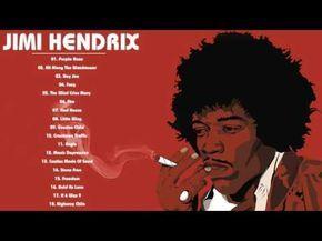 Best Songs of JIMI HENDRIX - JIMI HENDRIX Greatest Hits Album 2017 - YouTube
