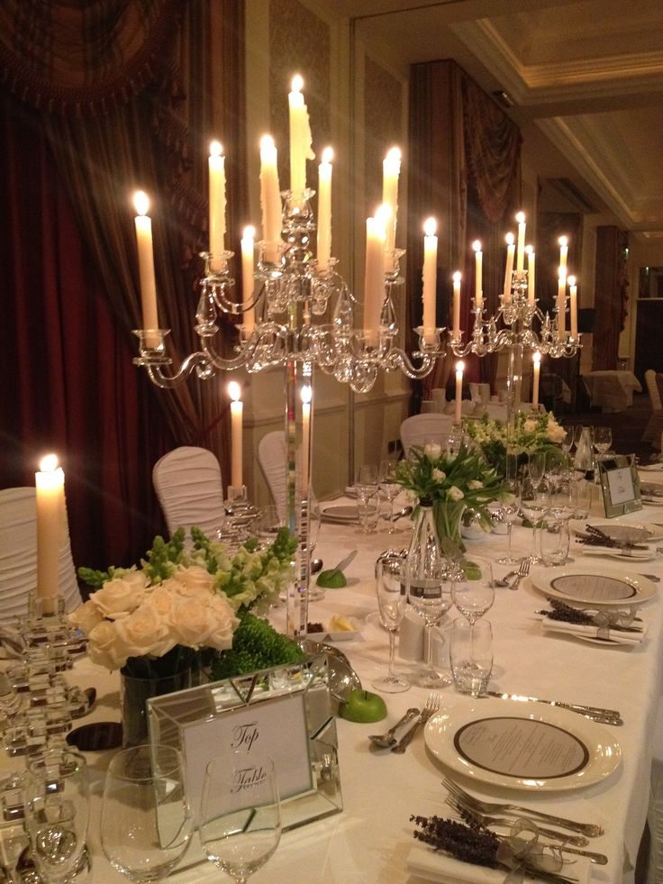 Top table at recent wedding