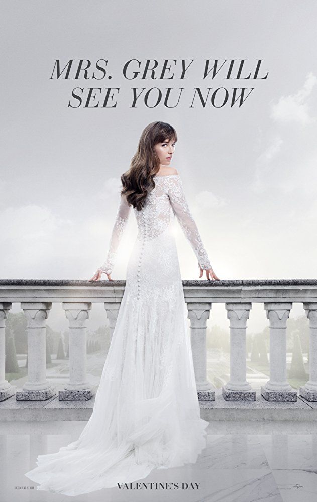 """""""Fifty Shades Freed"""" - 2018 film -  Directed by James Foley.  With Arielle Kebbel, Tyler Hoechlin, Jamie Dornan, Dakota Johnson. The third installment of the 'Fifty Shades of Grey' trilogy."""