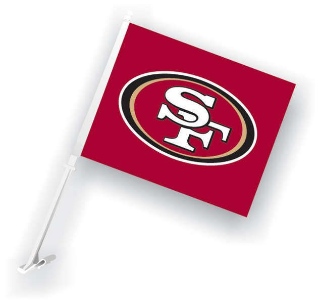 86721bf7c961d Officially licensed NFL San Francisco 49ers car flags in our Daily Deals  section--on sale now!