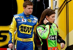 VIDEO: Boyfriend Wrecks Danica Patricks Car in NASCAR Race