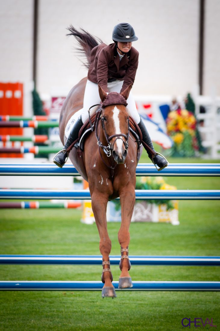 Reed Kessler and Cylana at Spruce Meadows. Can't wait to see her in show jumping in London!!!!
