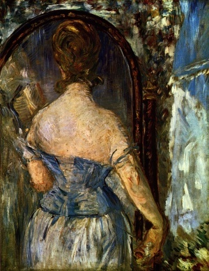 70 best edouard manet images on pinterest artworks for Devant le miroir manet