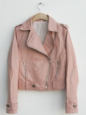 31 best Pink images on Pinterest | Pink leather jackets, Pink ...