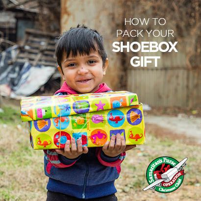 2017 'How to Pack a Shoebox Gift' Leaflet
