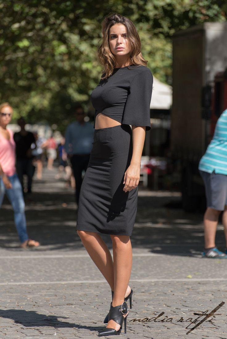 By nadia rapti, black dress