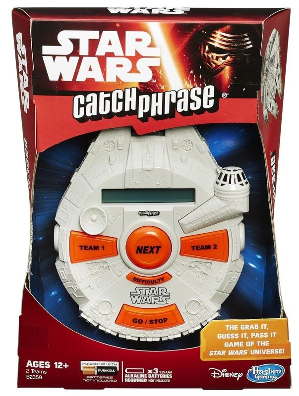 Star Wars The Force Awakens - Catchphrase Game