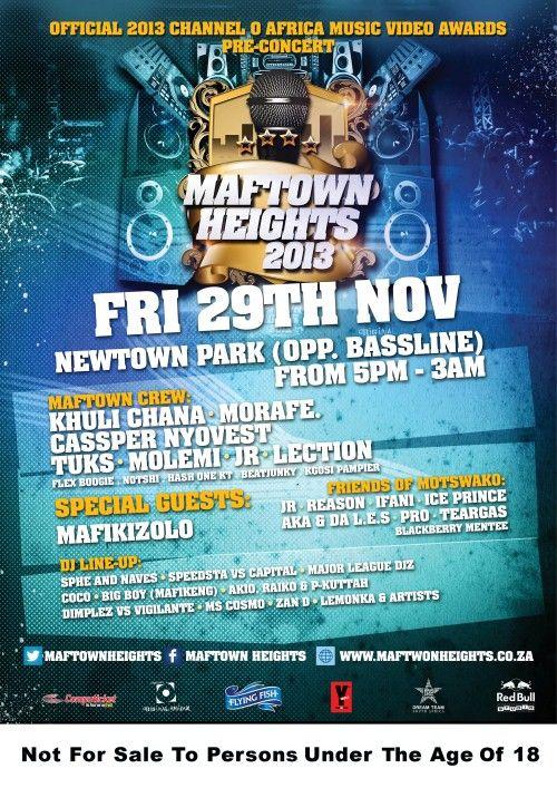 Maftown Heights Poster