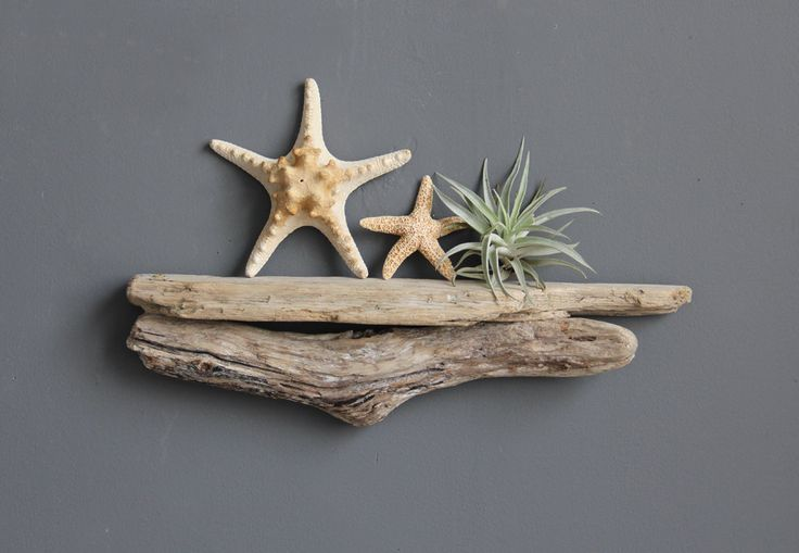 Small Natural Driftwood Shelf. $38.00, via Etsy.