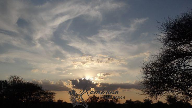 Xombana sunset, October 2014