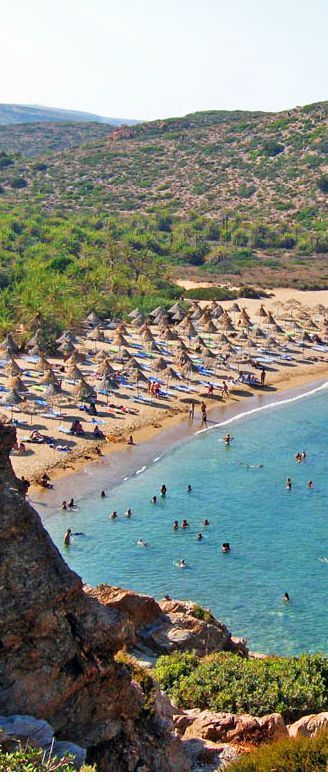 Greece Travel Inspiration - Vai beach in Crete
