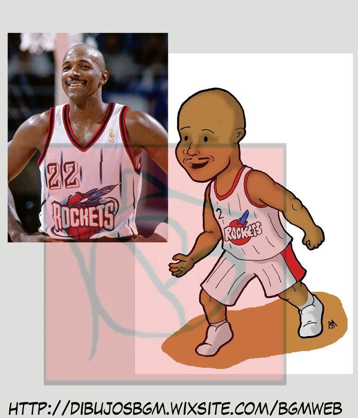 Clyde Drexler, NBA, Baloncesto, caricatura