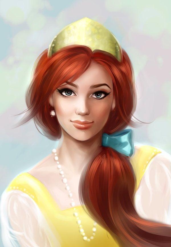 Anastasia I know she's not Disney but I love this movie