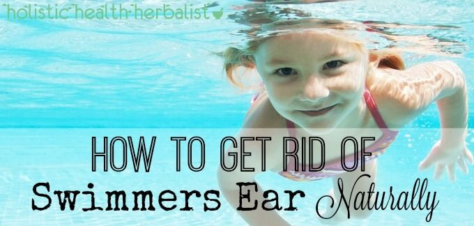 Learn how to get rid of swimmers ear naturally by using simple household remedies to help soothe pain, drain out the water, and kill bacteria.