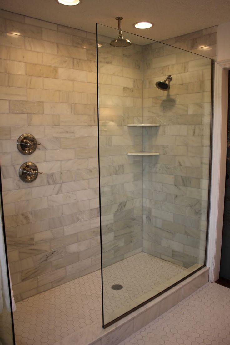 Doorless Walk In Shower Designs Handle On Separate Wall Bathroom Legs Pinterest Remodel And Master