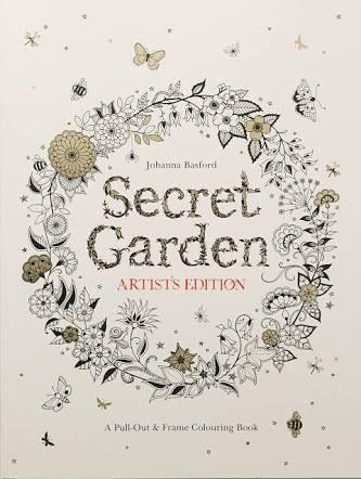 Secret Garden Artist Edition, Johanna Basford, United Kingdom 🇬🇧 my rating  3