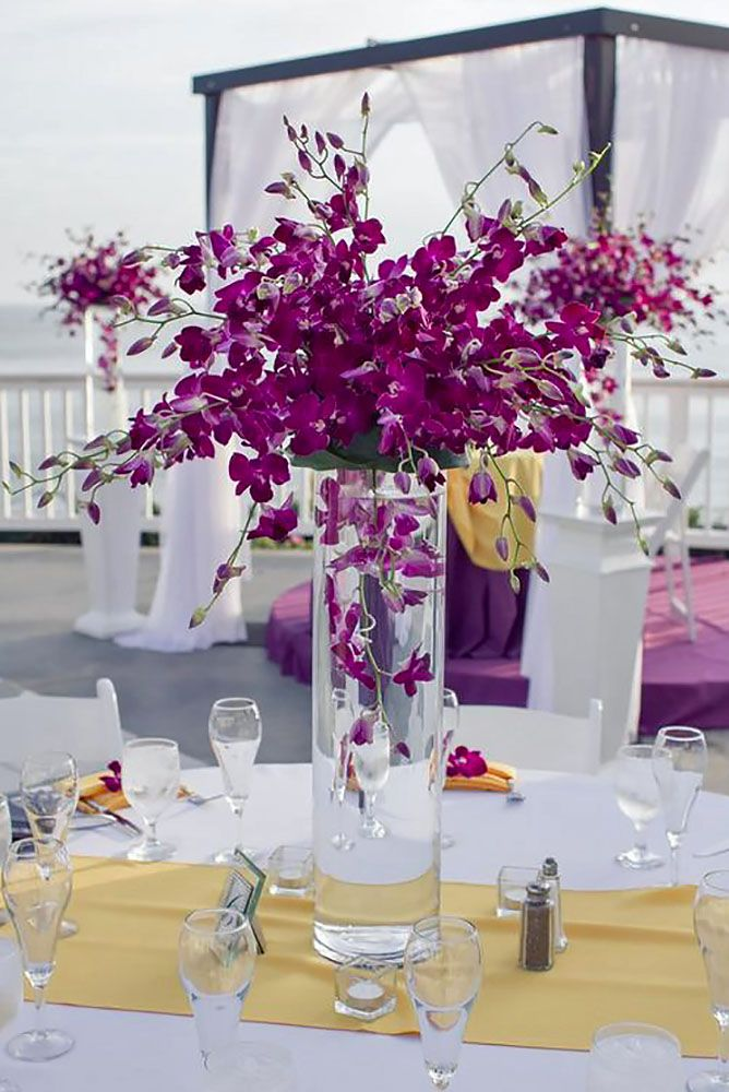 27 Gorgeous Tall Wedding Centerpieces To Impress Your Guests. 17 Best images about Wedding Decorations on Pinterest   Wedding