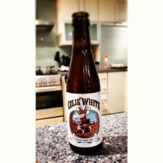 #CRAFTbeer  Celis White - Belgium White Beer. Delicious, Delicious!