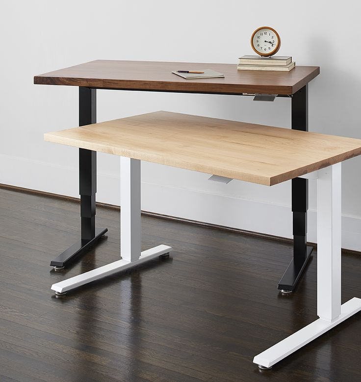 Humanscale Sit Stand Desk Black With Walnut Black With Walnut Sit Stand Desk Desk Furniture