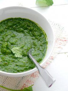 Mint and Coriander Chutney (Indian Green Chutney)