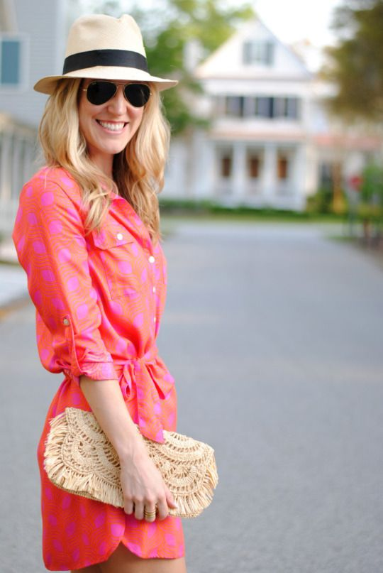 fun color and print for spring